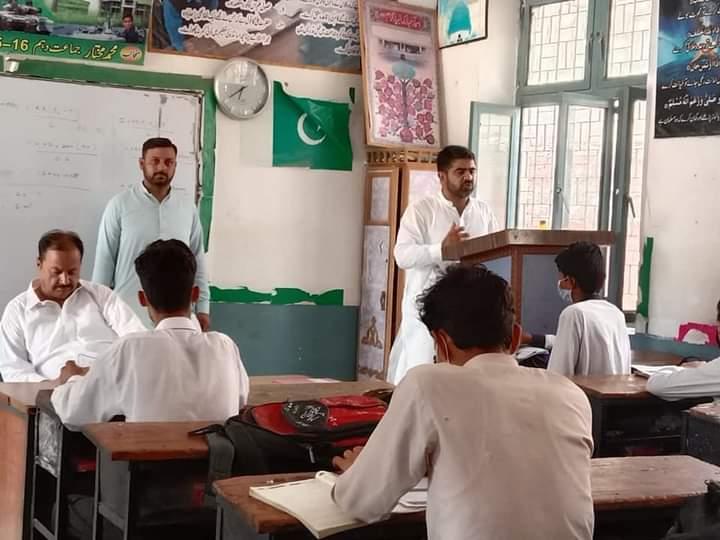 ریجنل ڈائریکٹر جناب ذیشان علی خان (علامہ اقبال اوپن یونیورسٹی ریجنل کیمپس اٹک) نے آگاہی مہم