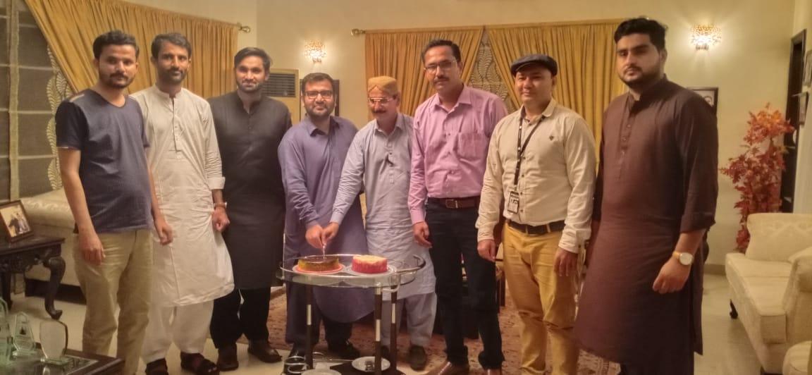رہنما پیپلز پارٹی بیرسٹر ھالار خان وسان سے سندھ پریس کلب کے مرکزی عہدیداروں نے ان کی رہائشگاہ پر ملاقات