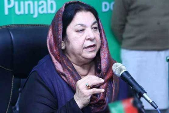 ایکسپو سینٹر لاہور میں ڈینگی ہسپتال فعال کردیا گیا ہے:یاسمین راشد
