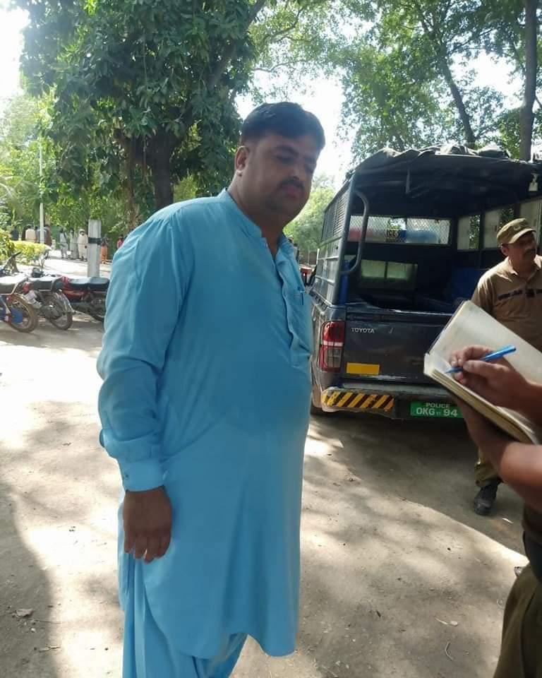 اسسٹنٹ کمشنر دیپالپور،اور  اسپیشل برانچ ،،پولیس  کی مشترکہ کاروائی